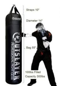 Outslayer Boxing MMA 100lbs Heavy Bag Review