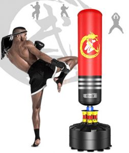 heavy punching and kicking bag for tall women