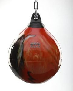 Aqua water bag for martial arts