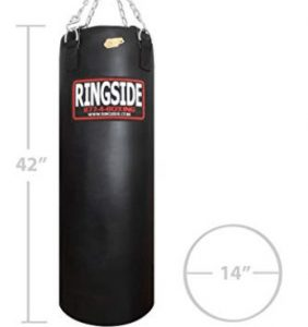 Ringside 100lb heavy bag for professionals and amateur fighters