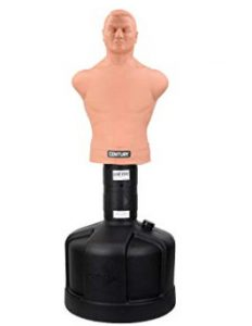 BOB punching bag for realistic martial arts training