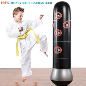 inflatable punching bag for teen beginners