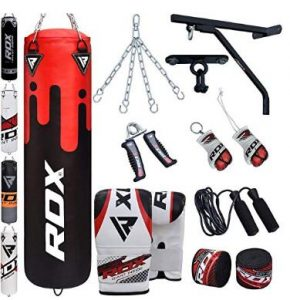 RDX Muay Thai training bag kit