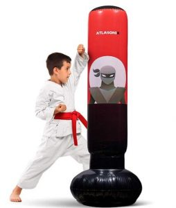 inflatable outdoor punching bag for kids punching and kickboxing