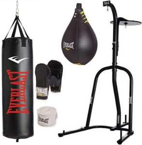 everlast floor standing punching bag