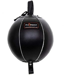 leather double end punching ball