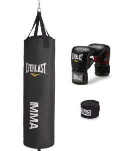 Everlast 70 lb heavy bag kit