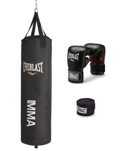 Everlast brand MMA punching bag kit