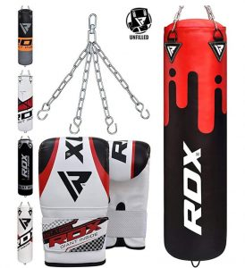 RDX Punching Bag kit with gloves and chain