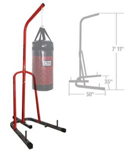 Ringside free standing punching bag stand