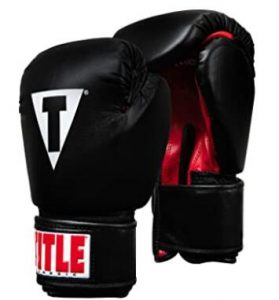 Title Classic Boxing Gloves with Tough Vinyl Cover