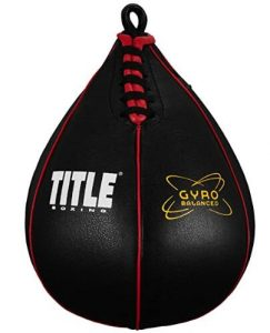title leather heavy bag