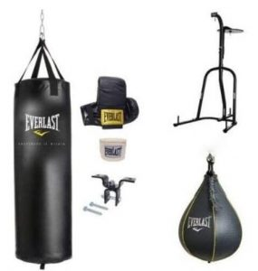 Everlast dual station indoor punching bag and stand reviews