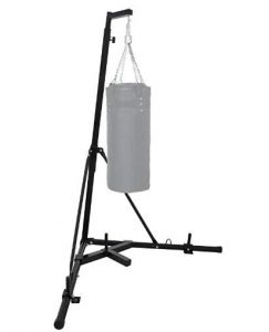 home punching bag stand with folding design
