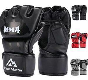 Brace Master heavy bag gloves for mma beginner reviews