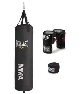 everlast wall mounted heavy bag kit