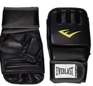 Everlast heavy bag wrist gloves for beginners
