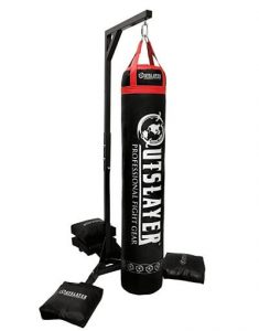 Outslayer kickboxing stand for Muay Thai