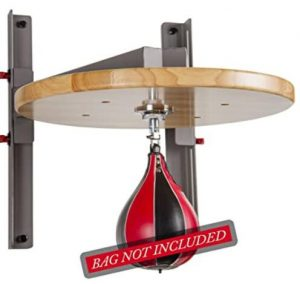 xmark adjustable speed bag platform and swivel