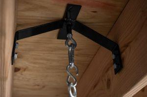 heavy bag hanger and mount