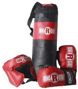 Ringside punching and boxing bag set for kids