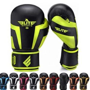 Elite gloves for kickboxing beginner