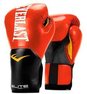 Everlast Elite 16oz sparring gloves