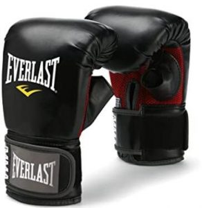Everlast heavy bag gloves for mixed martial arts
