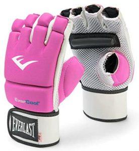 Everlast fingerless punching bag gloves for women
