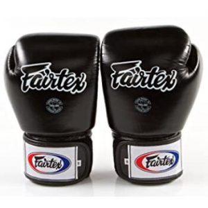 Fairtex 16 oz sparring gloves for Muay Thai