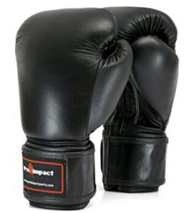 Pro Impact 16 ounce gloves for sparring use