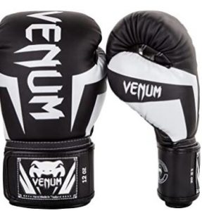 Venum Elite 16 ounce sparring gloves with 3 layers of natural foam