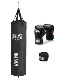 everlast 70 lb mma heavy bag kit review