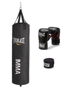 everlast 70 lb mma heavy bag kit review