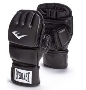 Everlast fingerless heavy bag gloves
