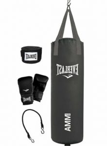 everlast women's 70 lb heavy bag kit