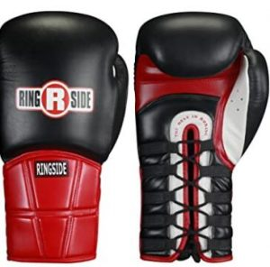 ringside lace up gloves